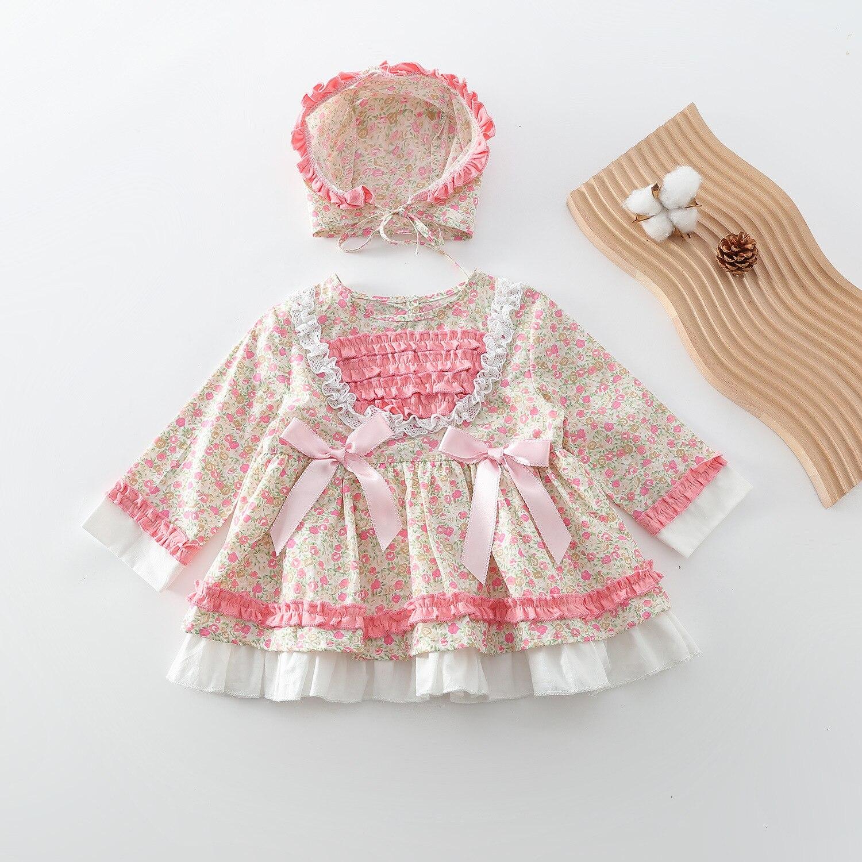 Испанская детская одежда, яркое турецкое детское платье в стиле