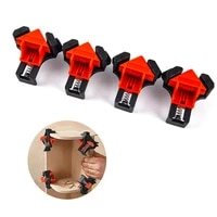 4pcs woodworking clamps 90 degree right angle fixing clips frame corner clamp