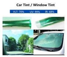 Sunice-Film de teinte pour fenêtre   Autocollant de voiture de 1.52m x 5m, Protection contre lisolation thermique, teinture UV pour vitre latérale, pare-soleil vert clair