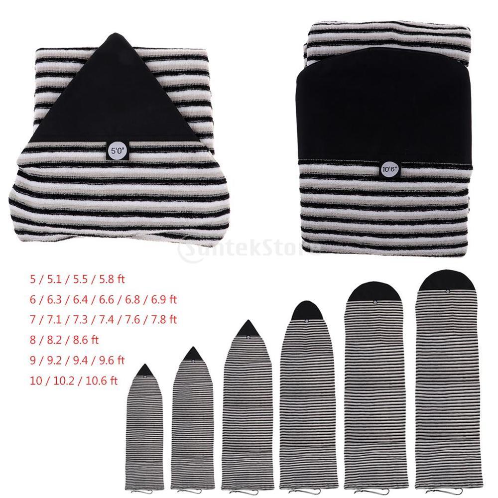 Elastische Surfbrett Socke Schutz Lagerung Abdeckung Reisetasche Wasser Sport Surfen Zubehör-26 größen wahl
