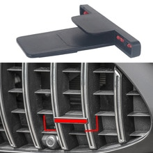 Couvercle rouge pour emblème AMG   Emblème avant, Logo autocollant décoratif, pour Mercedes Benz GT C63 GLC S R C G, accessoires de classe 1-20 pièces