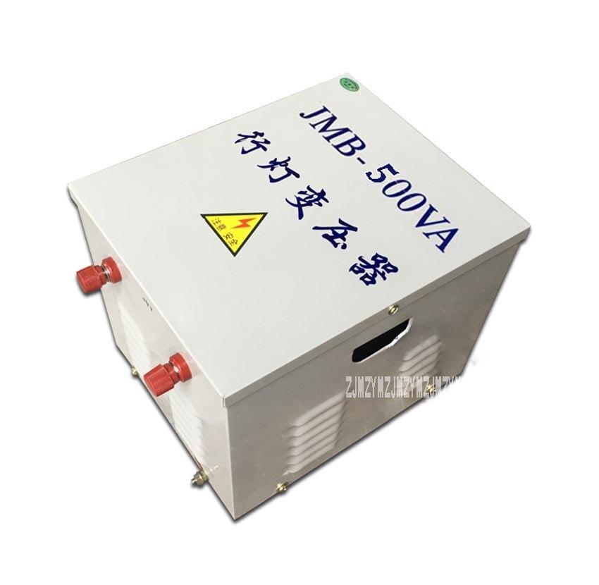 Transformador de JBM-500VA, lámpara en línea, transformador de iluminación para sitio de construcción, voltaje de seguridad, transformador de iluminación de 380V/220V 50/60HZ