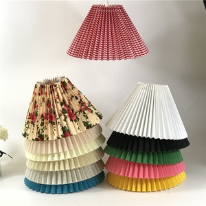 Nordic Hanging INS Pendant Lights Living Room Lighting Pleated Skirt Home Decor Pendant Lamp Cafe Decoration Simple Luminaires