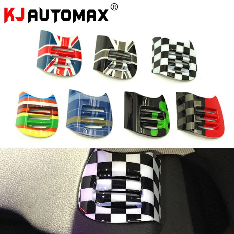 Kjautomax para mini cooper f55/f56 automóvel tomada de ar escudo decorativo