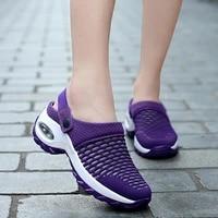 womens sneakers 2020 summer ladies mid heel shoes ladies thick soled breathable comfortable ladies casual sneakers