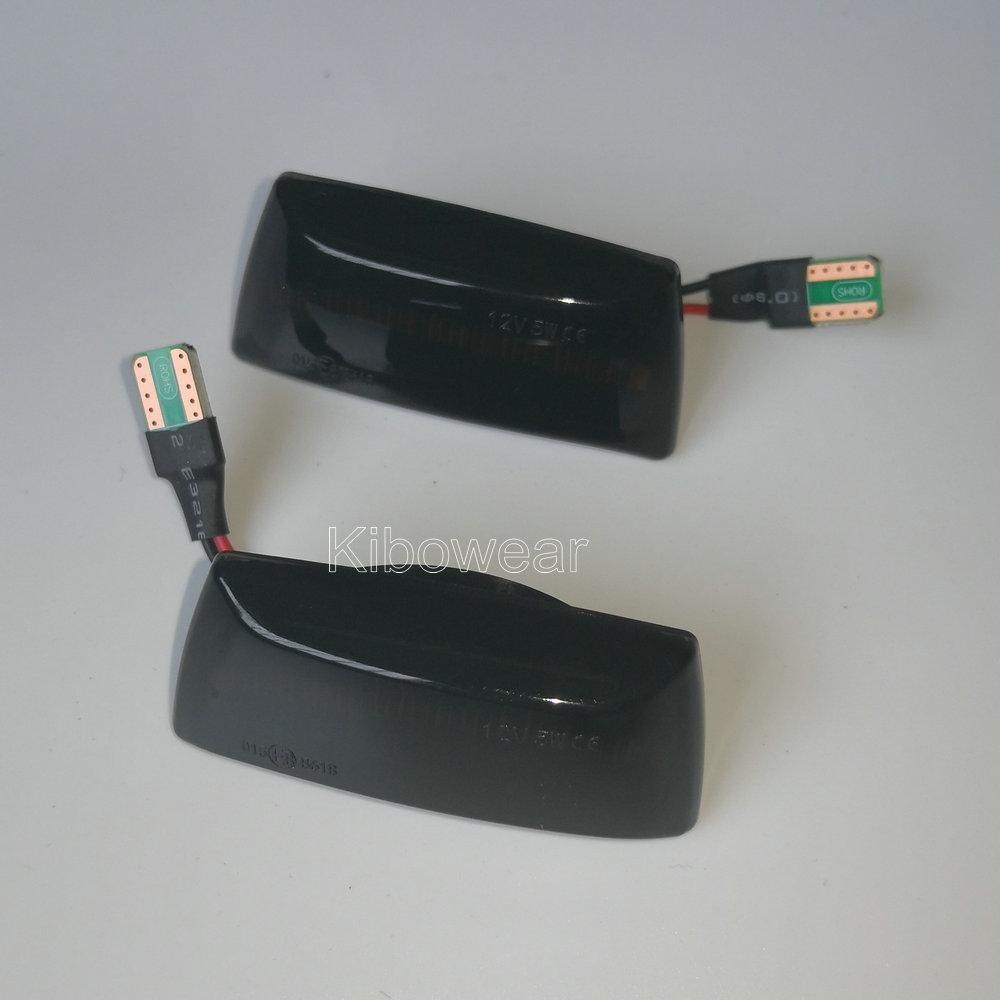 Clignotant dynamique pour Opel Insignia Astra H Zafira B Corsa D, accessoires de garde-boue, LED, 2005, 2006, 2008, 2010, 2011, 2014