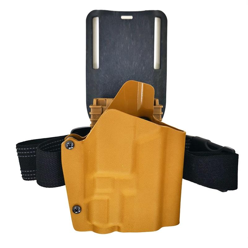 Funda táctica para glock seriesVP9 PPQ FNS9, adaptador de aterrizaje de funda Saistrap, Trajes (puede instalar lámpara de TLR - 7 funda de pistola