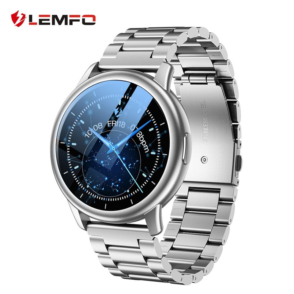 LEMFO LF28 Smart Watch Man IP68 Waterproof Men 2021 Extra Strap Fitness Bracelet BT5.0 Men's Watches for Android IOS