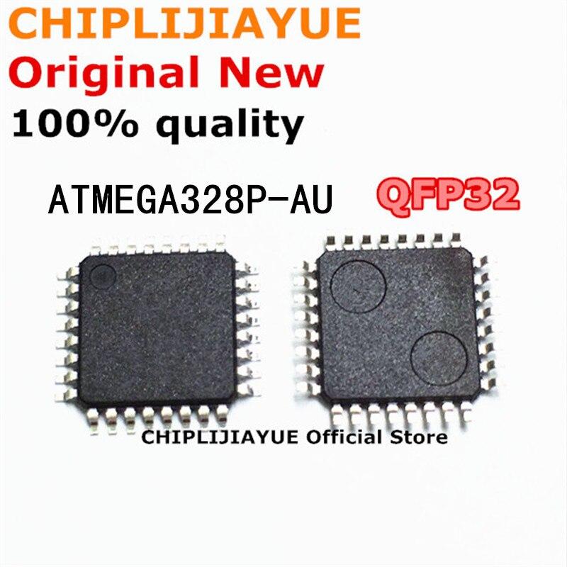 Набор микросхем ATMEGA328 QFP32 ATMEGA328P AU MEGA328P ATMEGA328P-AU, набор схем 5-10 шт., новый и оригинальный чипсет с интегральной схемой, QFP-32