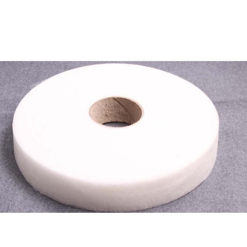 White Double Sided Sewing Accessory Adhesive Tape Cloth Apparel Fusible Interlining  Fabric Tape