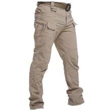 Pantaloni tattici militari da città uomo SWAT pantaloni militari da combattimento molte tasche pantaloni Cargo Casual resistenti all'usura impermeabili uomo 2021