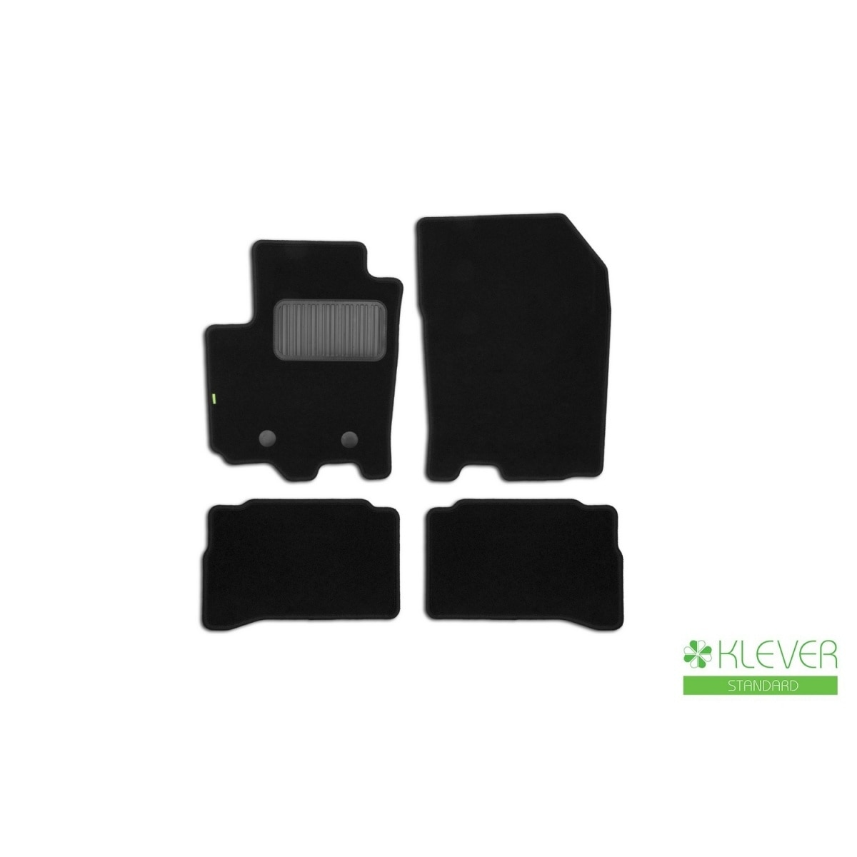 Floor mats Klever standard Suzuki Vitara 2015-, cross, 4 PCs