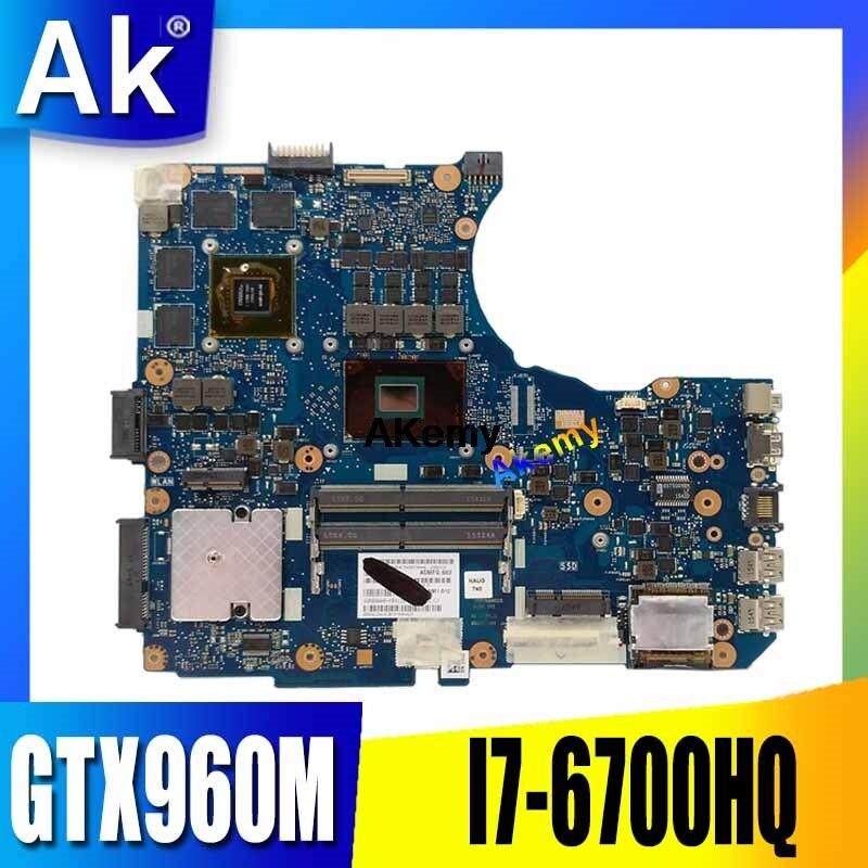 AK N551VW اللوحة GTX960M I7-6700HQ ل ASUS G551V FX551V G551VW FX51VW اللوحة المحمول N551VW اللوحة N551VW