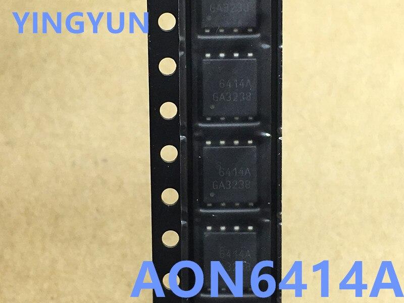 10PCS/LOT  6414A   AON6414A AON6414 AO6414A  QFN-8 MOSFET