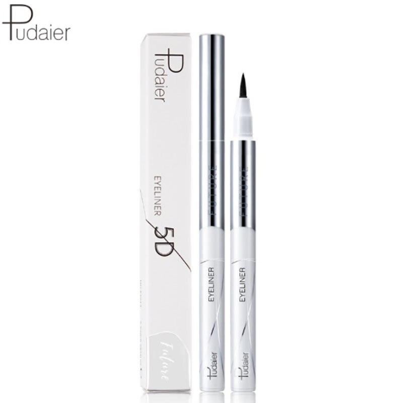 Waterproof Liquid Black Eyerliner Crayon Yeux Pen delineadores De Ojos Eye Liner Pencil Paillette Lapiz Fast Shipping Makeup