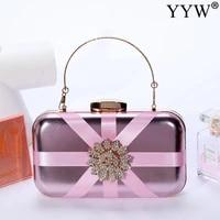 pink evening bags women stitching rhinestone bridal clutches bag evening bags women ladies clutch crystal clutch purse elegant