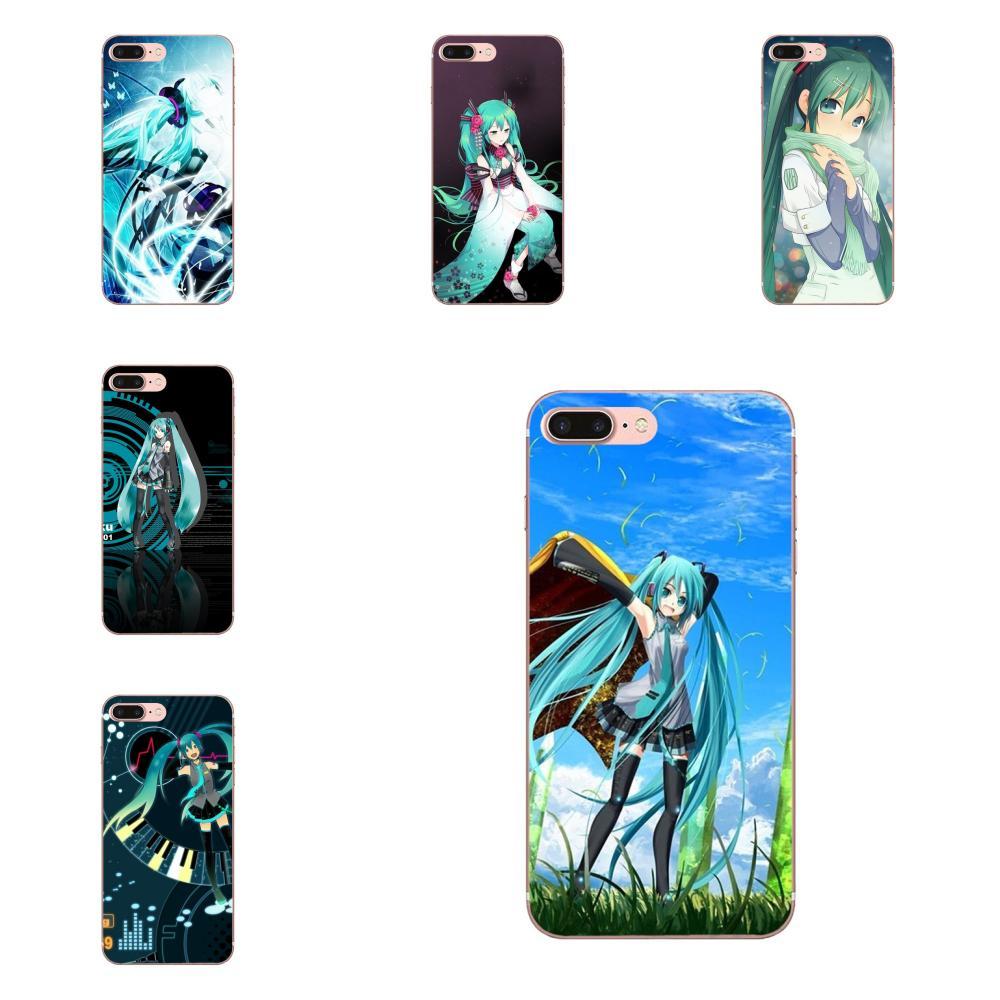 Anime Dakimakura Japón Hatsune Miku TPU de la caja del teléfono de la moda para Samsung Galaxy A71 Nota 10 Plus A51 caso A50 71 51