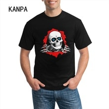 Cool Skull Design Men Cotton T-shirt Short Sleeve Black T Shirts Men's Tops Tee Summer Clothing Work