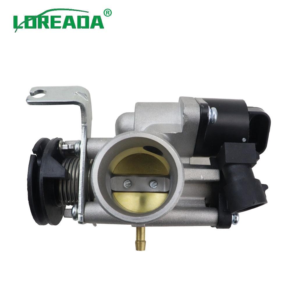 Loreada original corpo do acelerador da motocicleta para a motocicleta 125cc 150cc com iac 26178 e sensor tps 35999 tamanho furo 30mm