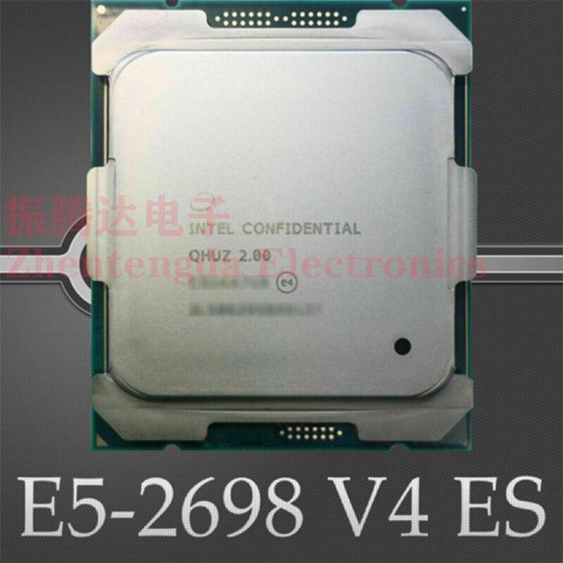 Intel Xeon E5-2698 V4 ES QHUZ 2.0GHz 20 Core 50MB LGA 2011-v3 E5-2698V4 ES CPU Processor