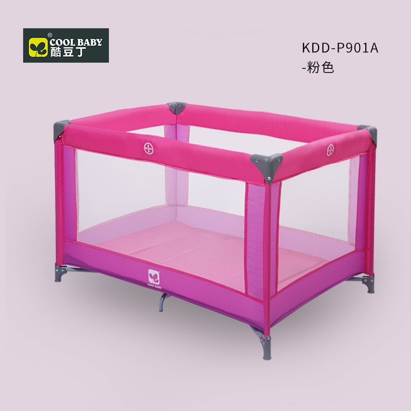 COOLBABY Baby Cribs  Baby Nest Bed Crib Multi-function Folding Portable Baby Bed Cradle Bed Movable Baby Stitching Bed enlarge