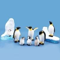 diy mini penguin iceberg seal model miniature figurine micro landscape bonsai decoration fairy garden ornament