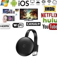 2021 G12 TV Stick For Chromecast 4K HD HDMI-compatible Media Player G12  WiFi Display Dongle Screen