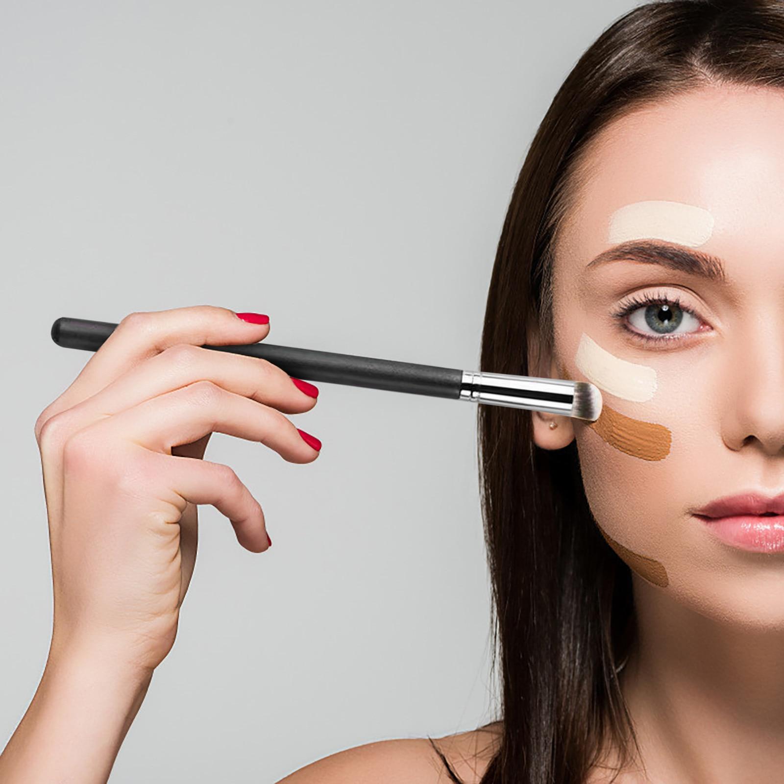 1pc Makeup Brush Set Cosmetic Professional Powder Eye Shadow Brush Powder Make Up Brush Blending Bea