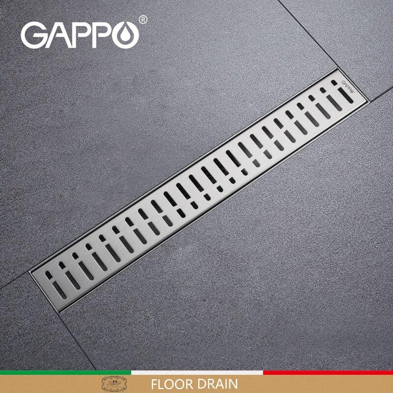 Сливной пробка для ванной GAPPO из нержавеющей стали, прямоугольный Слив для отходов, защита от запаха, крышка для слива в ванной, душе, G85007-3