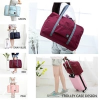 2021 new nylon foldable travel bags unisex large capacity bag luggage women waterproof handbags men travel bags free shipping