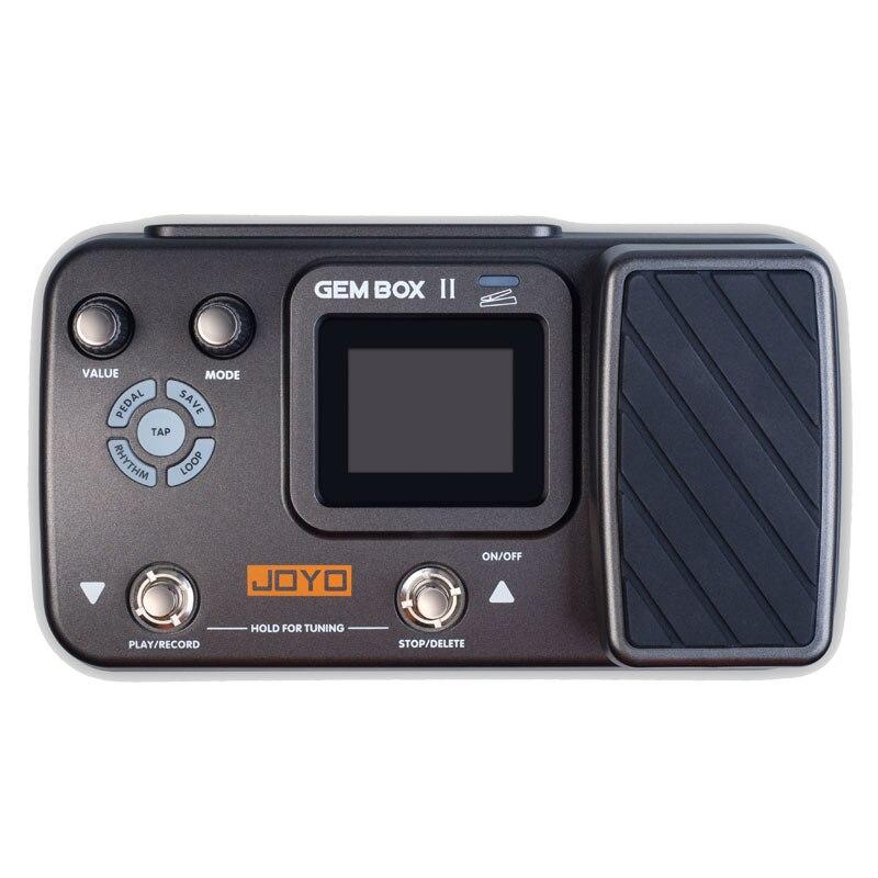 JOYO GEM BOX II Multi Effects Processor Multi Effects Guitar Pedal Guitar Accessories of 66 Effects Multi Pedal