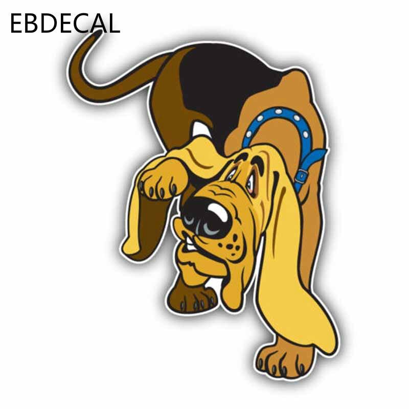 EBdecal perro de raza Bloodhound de alta calidad para Auto coche/Parachoques/ventana/pegatina de pared pegatinas DIY decoración CT5326