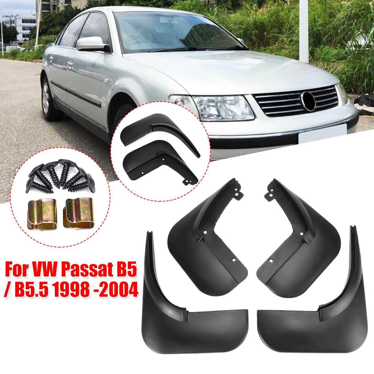 Брызговики для VW Passat/B5/B5.5 1998-2004 Брызговики спереди и сзади брызговик Fender крылья 2003 2002 2001 2000 1999