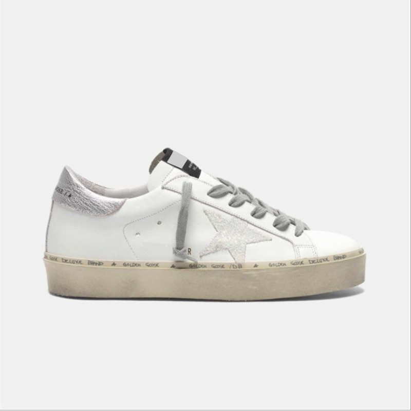 Autumn and Winter New Children's Shoes First Layer Cowhide Distressed Dirty Parent-child Star Fashion  Breathable Sneakers QZ60 enlarge