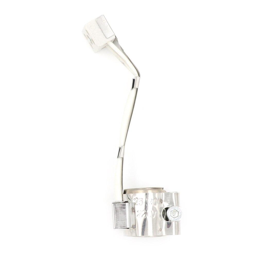 25*30mm elemento de aquecimento elétrico para a máquina de injeção de aço inoxidável plástica 220 v 80 wmica band calefator
