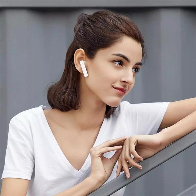 Original Xiaomi Air2 SE Bluetooth Earphone BT5.0 Mi True Wireless Headset Redmi AirDots 2 Earbuds Active Noice Cancelling 8