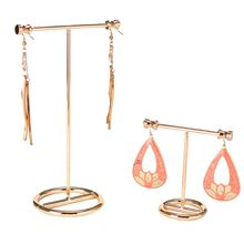 Jewelry Display Stand Show Rack Metal Gold Earrings Rack Earrings Storage Necklace Bracelet Storage Jewelry Showcase