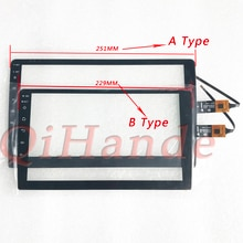 """2.5D için Teyes S-PRO 9 """"Lada Vesta tablet dokunmatik ekran digitizer cam sensörü GPS araba radyo multimedya Video oynatıcı navigasyon"""