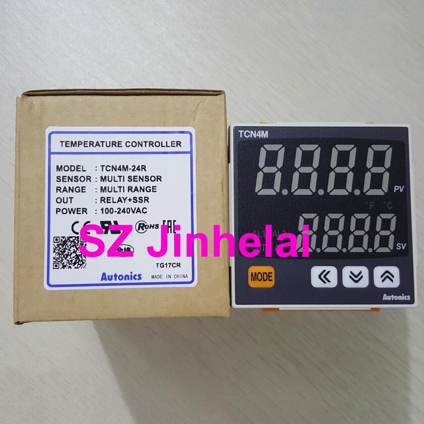 Original autêntico TCN4M-24R autônicos controlador de temperatura 100-240vac