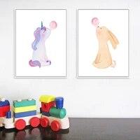 Mode enfants chambre imprimer No-1079657858 mur Art photo nordique decor a la maison toile peinture