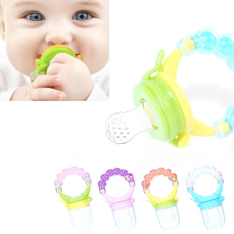 Chupetes de alimentación para bebés, 1 Uds., Nibbler, tetina, chupete s para bebé, alimentador de frutas, alimentación con tetinas, chupete seguro de tetina
