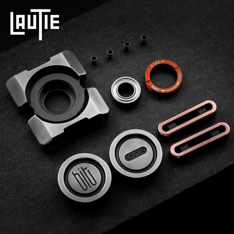 LAUTIE BIT02 Fingertip Gyro High Speed Mute Mechanical EDC Toy enlarge