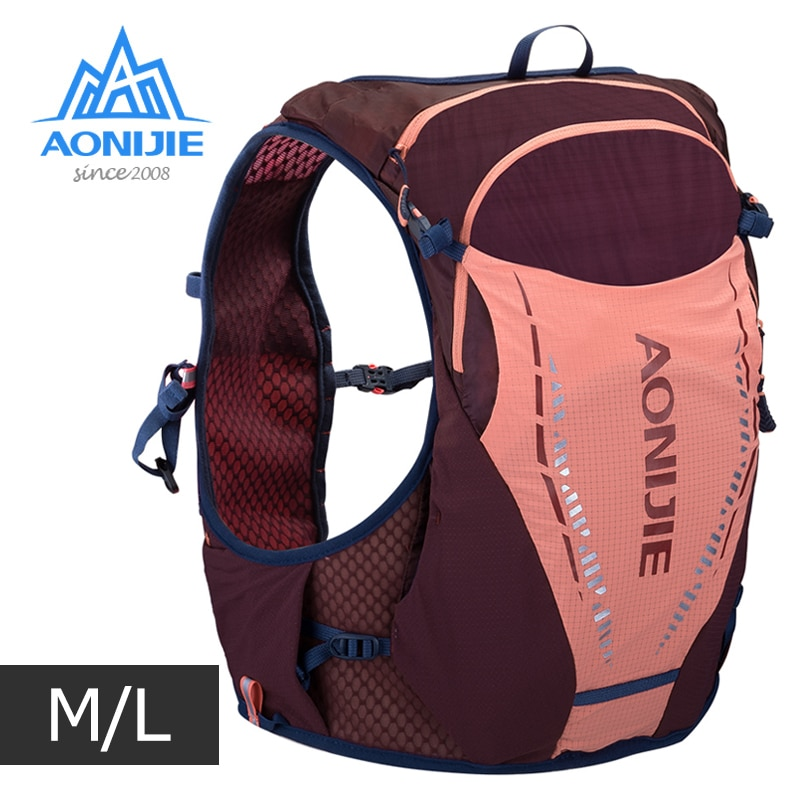 ML tamaño AONIJIE C9103 Ultra chaleco 10L hidratación mochila paquete bolsa suave vejiga de agua matraz para senderismo correr maratón senderismo