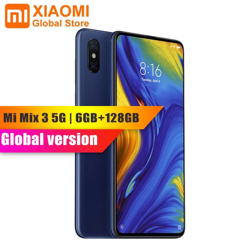 "Ursprüngliche Globale Version Xiao mi mi mi x 3 5G Version 6GB 128GB Handy NFC Snapdragon 855 Octa Core 6.39 ""AMOLED Smartphone"