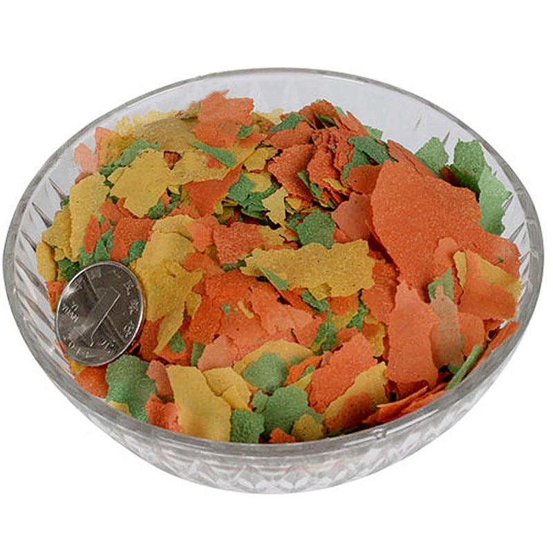 Тропические декоративные рыбки еда Золотая рыбка Карп маленькая рыбка еда 3 цвета хлопья корма продукты для рыб аквариумные аксессуары