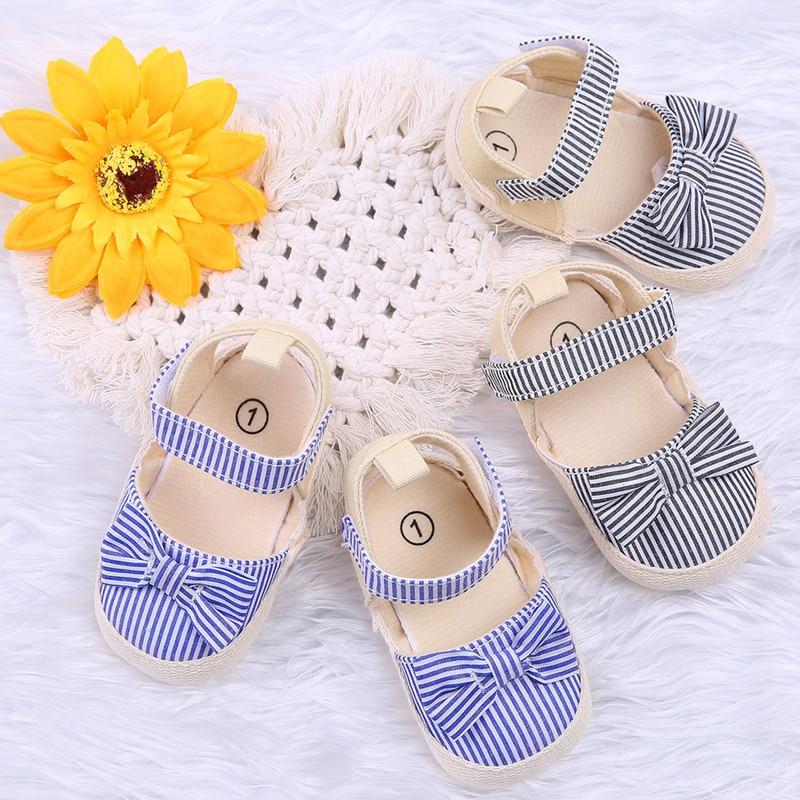 2019 Children Summer Shoes Newborn Infant Baby Girl Boy Soft Crib Shoes Infants Anti-slip Sneaker St