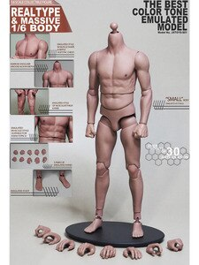 Spot 1/6 action figure semi-encapsulated muscle body high quality 12 inch action figure body model accessories