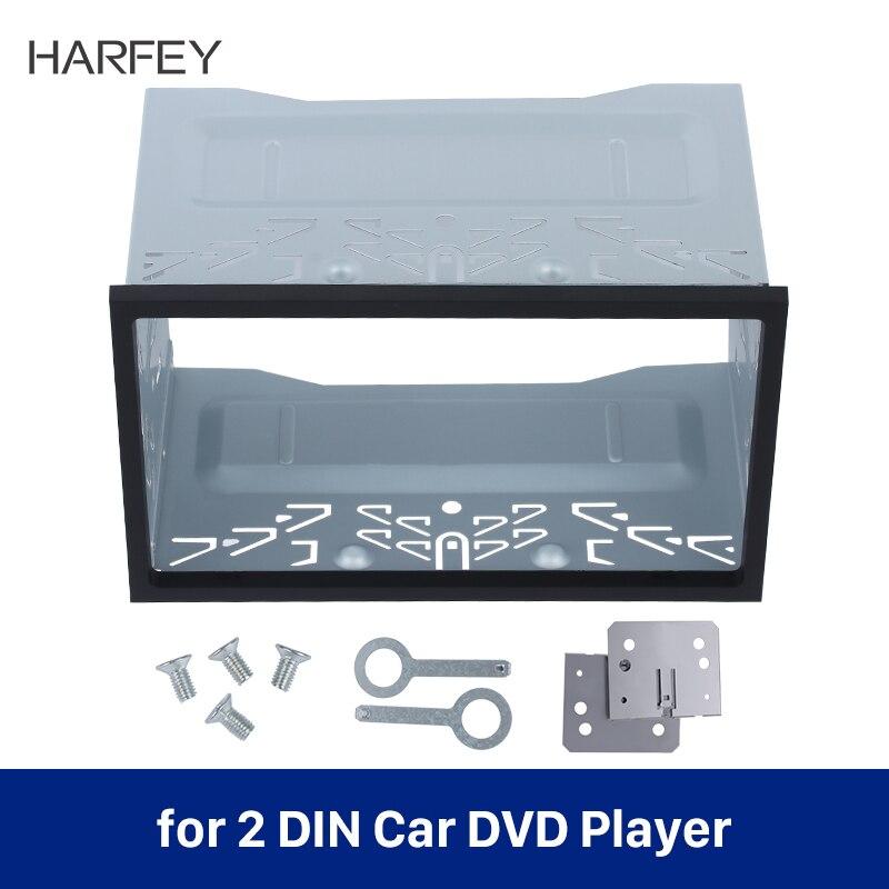 Harfey-kit de embellecedor Universal para coche, marco de Radio de coche, Fascia...