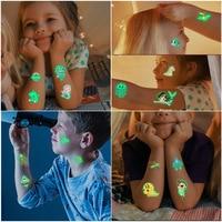 Светящиеся татуировки #3