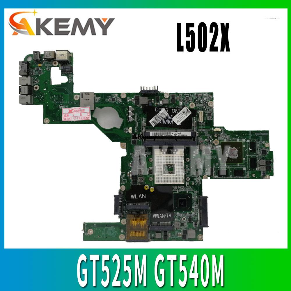 C47NF 0C47NF CN-0C47NF اللوحة الرئيسية لأجهزة الكمبيوتر المحمول Dell XPS L502X اللوحة الأم GT525M GT540M DAGM6CMB8D0 اختبار العمل 100% الأصلي